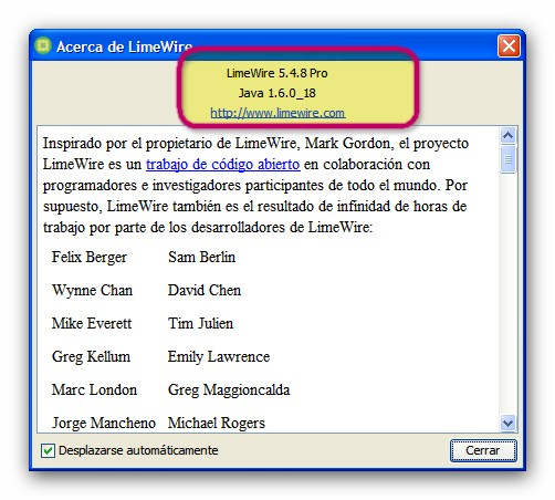 Old Version of Limewire Download